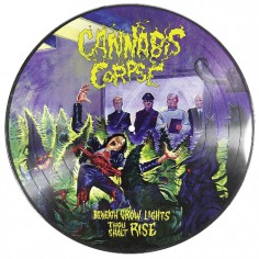Cannabis Corpse - Beneath Grow Lights Thou Shalt Rise - LP PICTURE + Digital