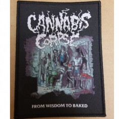 Cannabis Corpse - From Wisdom to Baked - Patch