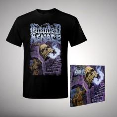 Hooded Menace - The Tritonus Bell - CD DIGIPAK + T Shirt bundle (Men)