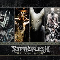 Septicflesh - In the Flesh - Part II - 4CD BOX + Digital