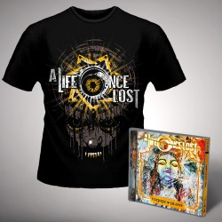 A Life Once Lost - All Seeing Eye - CD + T Shirt bundle (Men)