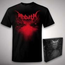 Abbath - Outstrider + Axe - CD BOX + T Shirt (Men)