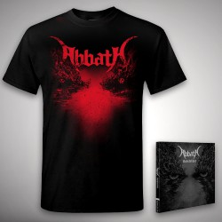 Abbath - Outstrider + Axe - CD + T Shirt bundle (Men)
