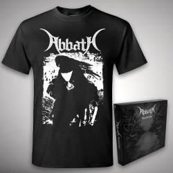 Abbath - Outstrider + Raven - CD BOX + T Shirt (Men)