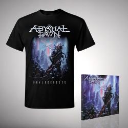 Abysmal Dawn - Phylogenesis - CD + T Shirt bundle (Men)