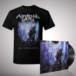Abysmal Dawn - Phylogenesis - LP + T shirt Bundle (Men)