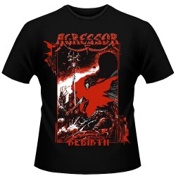 Agressor - Rebirth - T shirt (Men)