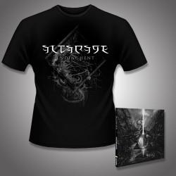 Altarage - Endinghent + Blankness Entities - CD DIGIPAK + T Shirt bundle (Men)