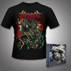 Archspire - Relentless Mutation + Alien - CD + T Shirt bundle (Men)