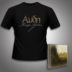 Audn - Farvegir Fyrndar + Logo - CD + T Shirt bundle (Men)