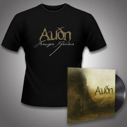 Audn - Farvegir Fyrndar + Logo - LP Gatefold + T Shirt Bundle (Men)