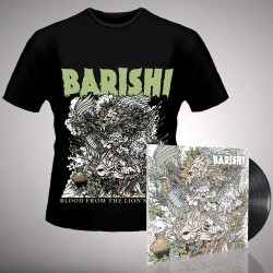 Barishi - Blood from the Lion's Mouth - LP Gatefold + T Shirt Bundle (Men)