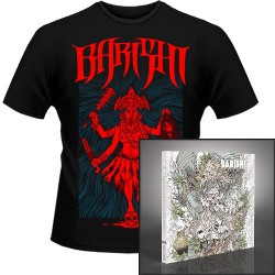 Barishi - Blood from the Lion's Mouth + Kali - CD DIGIPAK + T Shirt bundle (Men)