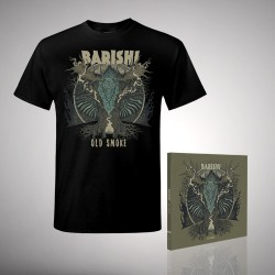 Barishi - Old Smoke - CD DIGIBOOK + T Shirt Bundle (Men)