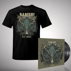 Barishi - Old Smoke - DOUBLE LP GATEFOLD + T Shirt Bundle (Men)