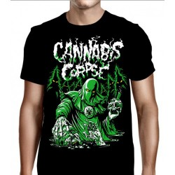 Cannabis Corpse - Baptized in Bud - T shirt (Men)