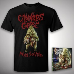 Cannabis Corpse - Nug So Vile Bundle - CD + T Shirt bundle (Men)