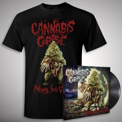 Cannabis Corpse - Nug So Vile Bundle - LP + T shirt Bundle (Men)