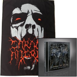 Carach Angren - Dance and Laugh Amongst the Rotten + Face - CD + Flag Bundle