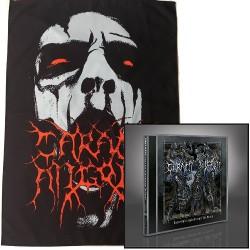 Carach Angren - Dance and Laugh Amongst the Rotten + Face - CD + Flag Bundle
