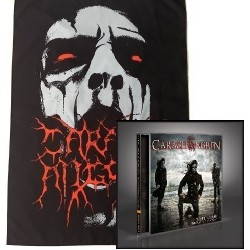 Carach Angren - Death Came Through A Phantom Ship - CD + Flag Bundle
