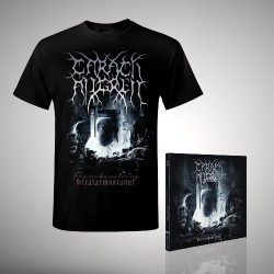 Carach Angren - Franckensteina Strataemontanus - CD DIGIPAK + T Shirt bundle (Men)
