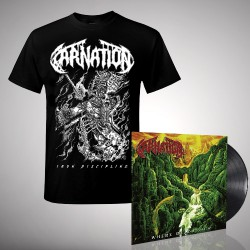 Carnation - Where Death Lies - LP + T shirt Bundle (Men)