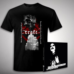 Craft - Terror Propaganda + Soundtrack - CD + T Shirt bundle (Men)