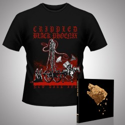Crippled Black Phoenix - Bronze + New Dark Age - CD DIGIPAK + T Shirt bundle (Men)