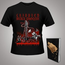 Crippled Black Phoenix - Bronze + New Dark Age - TAPE + T Shirt Bundle (Men)