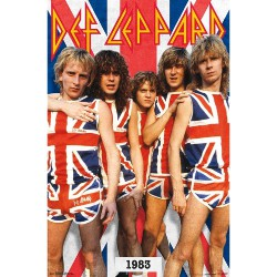 Def Leppard - Band Photo 1983 - Standard Poster