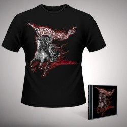 Destroyer 666 - Wildfire - CD + T Shirt bundle (Men)