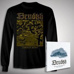 Drudkh - A Few Lines In Archaic Ukrainian Bundle - CD DIGIPAK + LONG SLEEVE bundle (Men)
