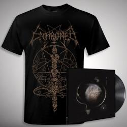 Enthroned - Cold Black Suns Ink Bundle - LP Gatefold + T Shirt Bundle (Men)