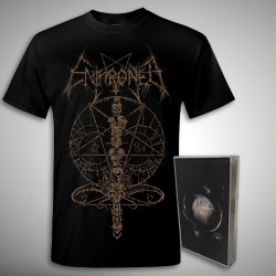 Enthroned - Cold Black Suns Ink Bundle - TAPE + T Shirt Bundle (Men)