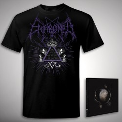 Enthroned - Cold Black Suns Samael Bundle - CD + T Shirt bundle (Men)