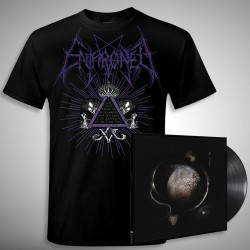 Enthroned - Cold Black Suns Samael Bundle - LP Gatefold + T Shirt Bundle (Men)