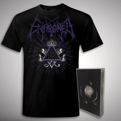 Enthroned - Cold Black Suns Samael Bundle - TAPE + T Shirt Bundle (Men)