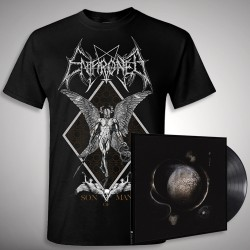 Enthroned - Cold Black Suns Son of Man Bundle - LP Gatefold + T Shirt Bundle (Men)