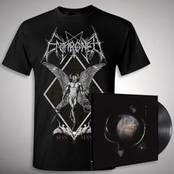 Enthroned - Cold Black Suns Son of Man Bundle - LP Gatefold + T Shirt Bundle (Men)