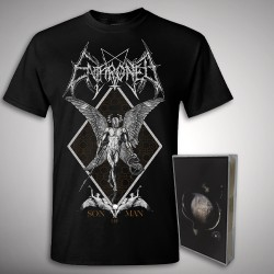 Enthroned - Cold Black Suns Son of Man Bundle - TAPE + T Shirt Bundle (Men)