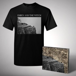 Esben and the Witch - Nowhere - CD DIGIPAK + T Shirt bundle (Men)