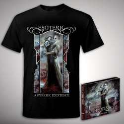 Esoteric - A Pyrrhic Existence - DCD DIGIPAK + T Shirt Bundle (Men)