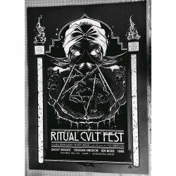 Ghost Brigade - Ritual Cvlt Fest (grey) - Screenprint