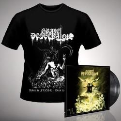 Grave Desecrator - Dust to Lust - DOUBLE LP GATEFOLD + T Shirt Bundle (Men)