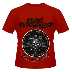 Grave Desecrator - Praise the Darkness - T shirt (Men)