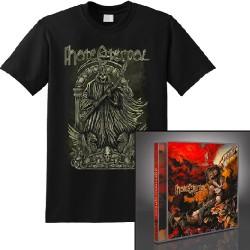 Hate Eternal - Infernus + The Reaper - CD + T Shirt bundle (Men)