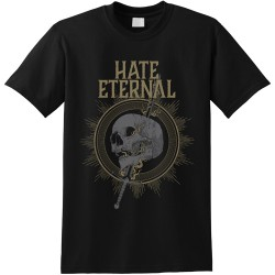 Hate Eternal - Sword & Skull - T shirt (Men)