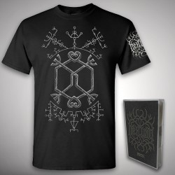 Heilung - Futha bundle 2 - TAPE + T Shirt Bundle (Men)