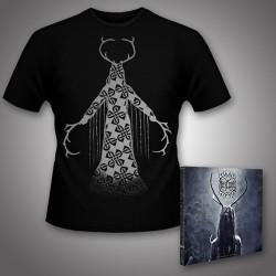 Heilung - Lifa - Heilung Live at Castlefest + Maria Shaman - CD DIGIPAK + T Shirt bundle (Men)